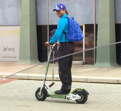 Last-mile commuting with an e-scooter | Toby Kurien